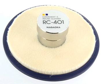Nagaoka RC-401 Round Cleaner Record Weight