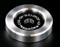 Nagaoka aluminum 45rpm single adapter